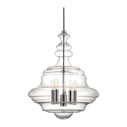 Hudson Valley 5 Light Large Pendant