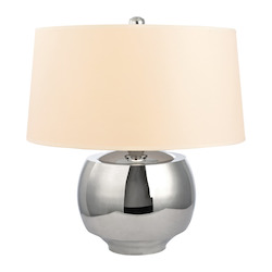 Hudson Valley 1 Light Large Table Lamp Wit