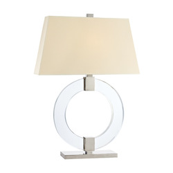 Hudson Valley 1 Light Small Table Lamp Wit