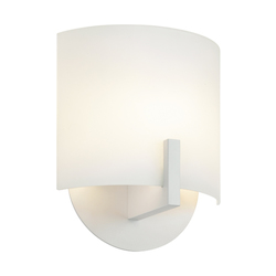 Sonneman Wall Light Textured White