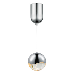 Sonneman Large Led Pendant W/Mini-Dome