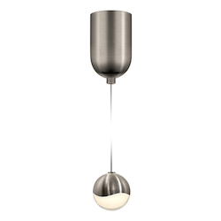 Sonneman Small Led Pendant W/Mini-Dome