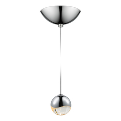Sonneman Small Led Pendant W/Dome Canop