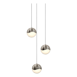 Sonneman 3-Light Round Medium Led Penda
