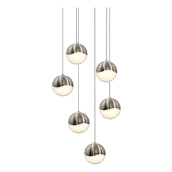 Sonneman 6-Light Round Medium Led Penda