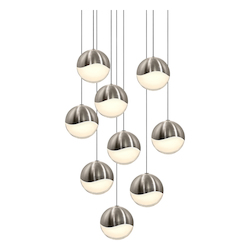 Sonneman 9-Light Round Large Led Pendan