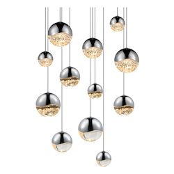 Sonneman 12-Light Round Assorted Led Pe