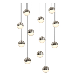 Sonneman 12-Light Round Small Led Penda