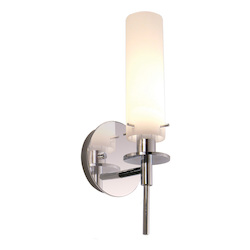 Sonneman Wall Light Polished Chrome