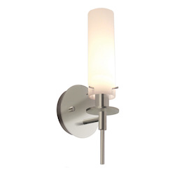 Sonneman Wall Light Satin Nickel