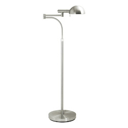 Sonneman One Light Nickel Floor Lamp