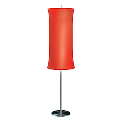 Sonneman Two Light Aluminum Floor Lamp