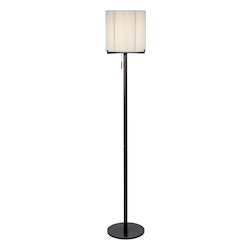 Sonneman One Light Black Floor Lamp