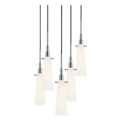 Sonneman Tapered 5-Light Pendant