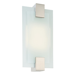 Sonneman Rectangle Fluorescent Sconce