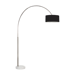 Sonneman Floor Lamp With Marble Base