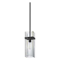 Sonneman Pendant Light SATIN BLACK