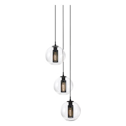 Sonneman 3-Light 10In. Pendant