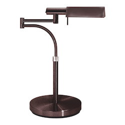 Sonneman One Light Bronze Table Lamp