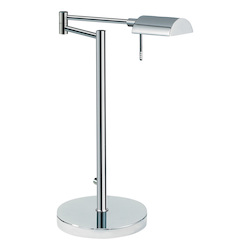 Sonneman One Light Chrome Table Lamp