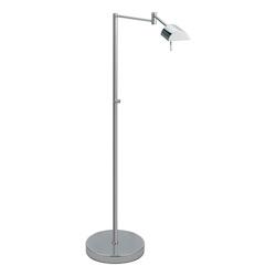Sonneman One Light Chrome Floor Lamp