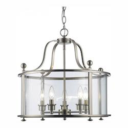 Z-Lite 5 Light Pendant