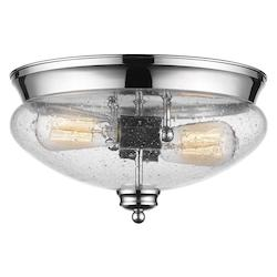 Z-Lite 2 Light Flush Mount