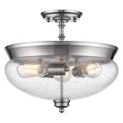 Z-Lite 3 Light Semi Flush Mount