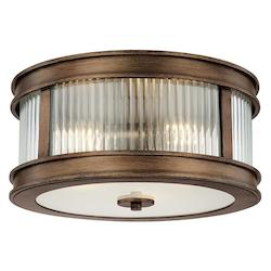 Capital Rustic Reid 3 Light Flush Mount Ceiling Fixture