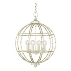 Capital Soft Gold Pendants 4 Light Pendant