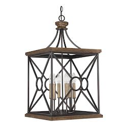 Capital Surrey The Landon Collection 6 Light Full Sized Cage Pendant