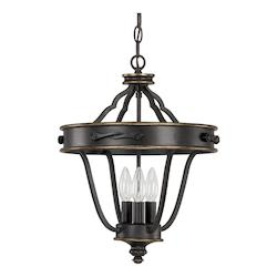 Capital Surrey The Wyatt Collection 3 Light Full Sized Pendant