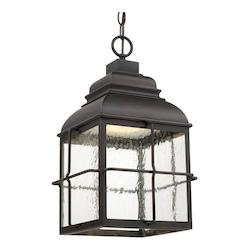 Capital Old Bronze Lanier 1 Light Outdoor LED Pendant
