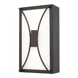 Capital Old Bronze Outdoor LED 1 Light Outdoor Wall Sconce