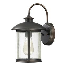 Capital Open Box Old Bronze The Dylan Collection 1 Light Outdoor Wall Sconce