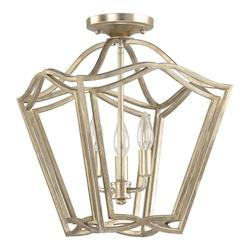Capital Open Box Winter Gold Foyer Collection 3 Light Full Sized Pendant