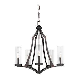 Feiss 5 - Light Chandelier