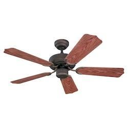 Sea Gull 42In. Panorama Outdoor Fan - Roman Bronze