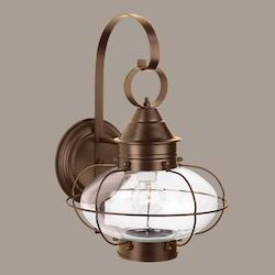 Norwell Cottage Onion Large Wall Light