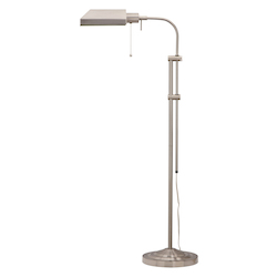 CAL Lighting 100W Pharmacy Floor Lamp W/Adj.Pole