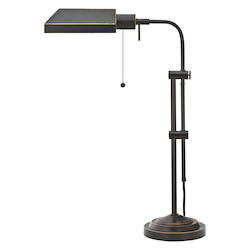 CAL Lighting 60W Pharmacy Tb Lp W/Adjust.Pole