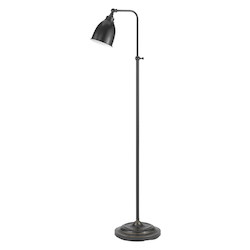 CAL Lighting 60W Pharmacy Fl Lp W/Adjust.Pole