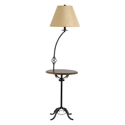 CAL Lighting Black 1 Light Legs Base Floor Lamp