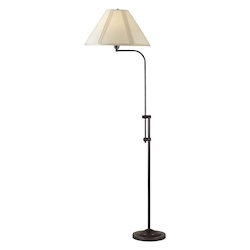 CAL Lighting 150W 3 Way Pharmacy Floor Lamp