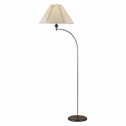 CAL Lighting 150W 3 Way Mini Arc Floor Lamp