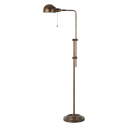 CAL Lighting 60W Croby Pharmacy Floor Lamp