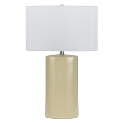 CAL Lighting 150W Minorca Ceramic Table Lamp