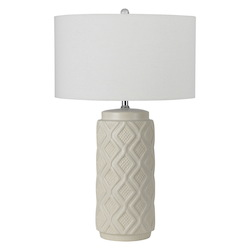CAL Lighting 150W Ceramic Table Lamp