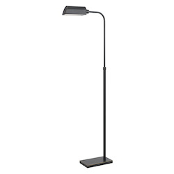 CAL Lighting Dark Bronze Pharmacy 1 Light LED Floor Light