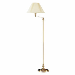 CAL Lighting 150W 3 Way Swing Arm Floor Lamp